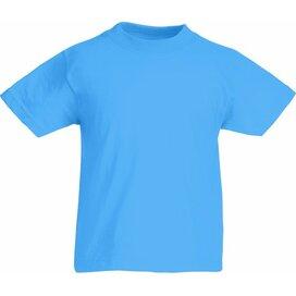 Kids Valueweight T Azure Blue