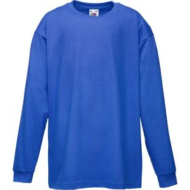 Kids Valueweight T Longsleeve Royal Blue