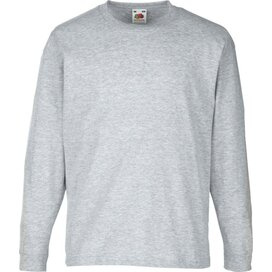 Kids Valueweight T Longsleeve Heather Grey