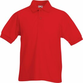 Kids 65/35 Polo Red