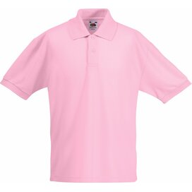 Kids 65/35 Polo Light Pink