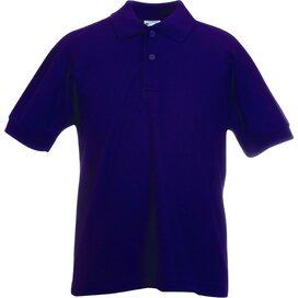 Kids 65/35 Polo Purple