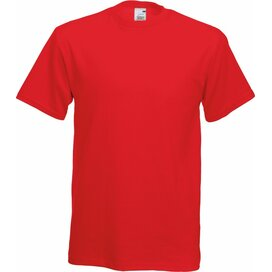 T-shirt Fruit of the Loom Screen Stars Original Full-Cut T Red