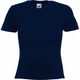 T-shirt Fruit of the Loom Lady-Fit Valueweight T Deep Navy