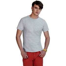 T-shirt Fruit of the Loom Fitted Valueweight T Heather Grey