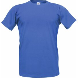 T-shirt Fruit of the Loom Fitted Valueweight T Royal Blue