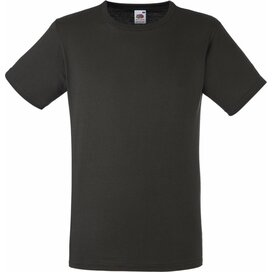 T-shirt Fruit of the Loom Fitted Valueweight T Charcoal