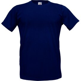 T-shirt Fruit of the Loom Fitted Valueweight T Deep Navy