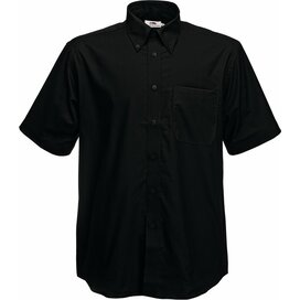 Men s/s  Oxford Shirt Black