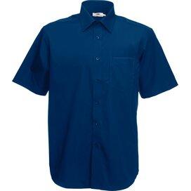 Men s/s Poplin Shirt Navy