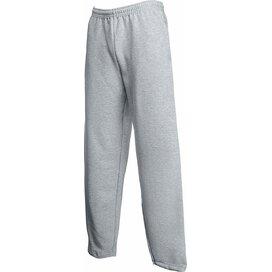 Open Hem Pants Heather Grey