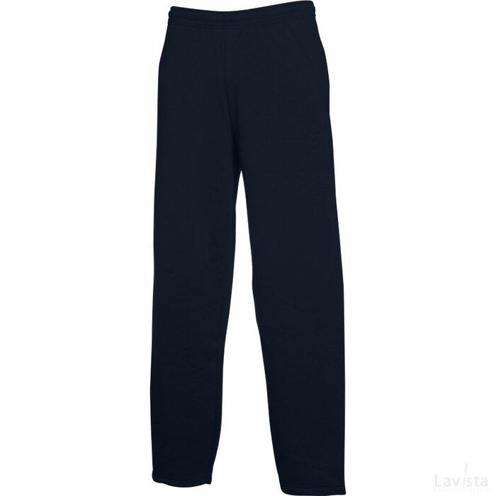 Open Hem Pants Deep Navy