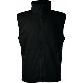Sleeveless Fleece Black