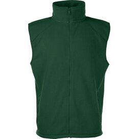 Sleeveless Fleece Bottle Green