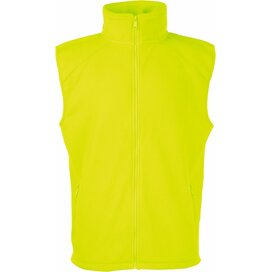 Sleeveless Fleece Bright Yellow