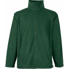 Full Zip Fleece Bottle Green