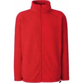 Full Zip Fleece Red