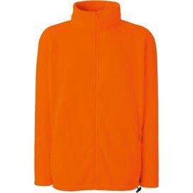 Full Zip Fleece Bright Orange