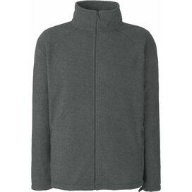 Full Zip Fleece Smoke