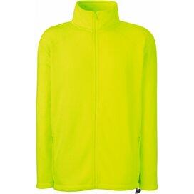 Full Zip Fleece Bright Yellow