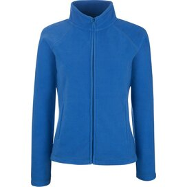 Lady-Fit Full Zip Fleece Jacket Royal Blue