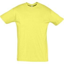 T-shirt Sol's Regent Pale Yellow