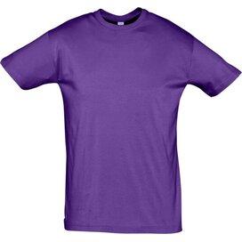 T-shirt Sol's Regent Light Purple