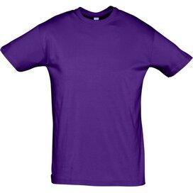 T-shirt Sol's Regent Dark Purple
