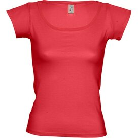 T-shirt Sol's Melrose Women Red