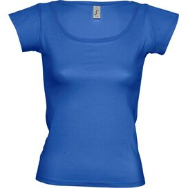 T-shirt Sol's Melrose Women Royal Blue