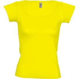 T-shirt Sol's Melrose Women Lemon