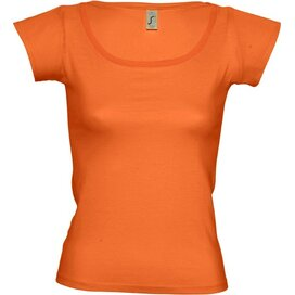 T-shirt Sol's Melrose Women Orange