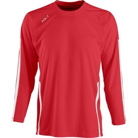 Wembley Longsleeve Red/White