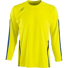 Wembley Longsleeve Lemon/Royal Blue