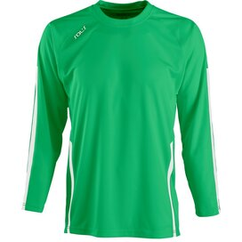Wembley Longsleeve Bright Green/White