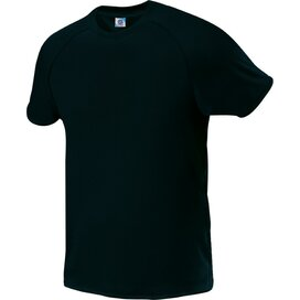 Kids Quick Dry Tee Black