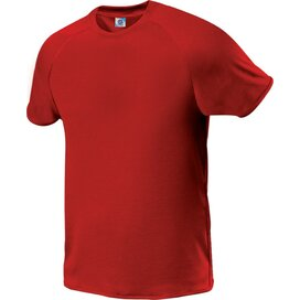 Kids Quick Dry Tee Red