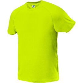 Kids Quick Dry Tee Fluorescent Yellow