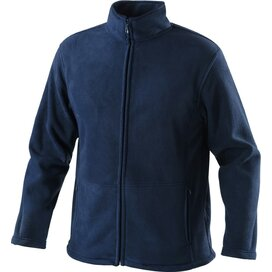 Outdoor Fleece Jacket Navy Blue