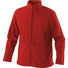 Outdoor Fleece Jacket Bright Red