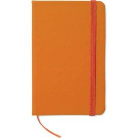 Notitieboekje met 96 pagina's Notelux Oranje