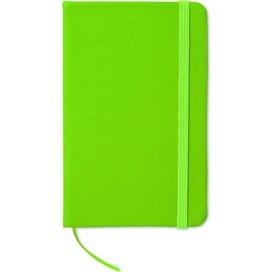 Notitieboekje met 96 pagina's Notelux Lime groen