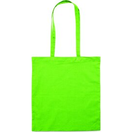 Katoenen tas COTTONEL COLOUR Lime groen