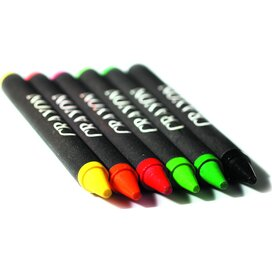 Set met 6 waskrijtjes Brabo multicolour