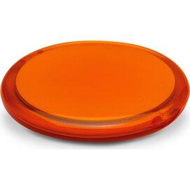 Dubbele spiegel (rond) Radiance Oranje