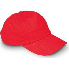 Baseball cap met sluiting Glop Cap Rood