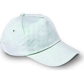 Baseball cap met sluiting Glop Cap Wit