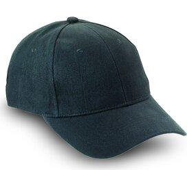Baseball cap met sluiting Natupro Zwart
