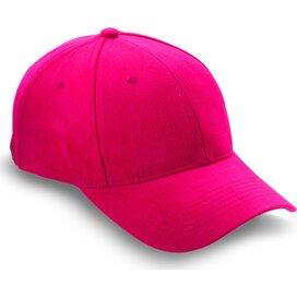 Baseball cap met sluiting Natupro Rood