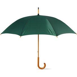 Paraplu met houten handvat Cala Groen